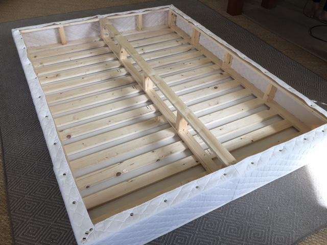 wood mattress foundation premium white pine sleeping organic. Black Bedroom Furniture Sets. Home Design Ideas