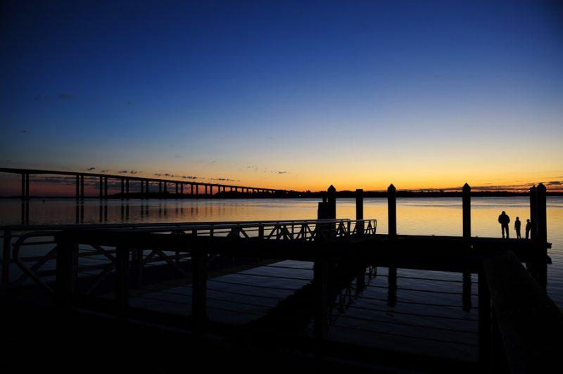 daniel's island, sc sun rise