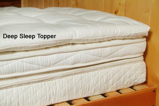 Deep Sleep Wool Topper 2