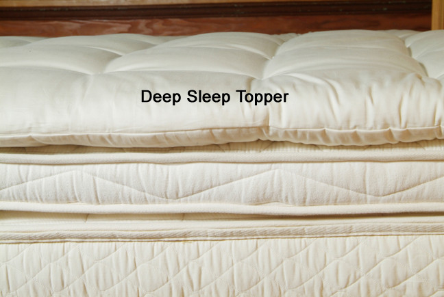 deep sleep wool topper