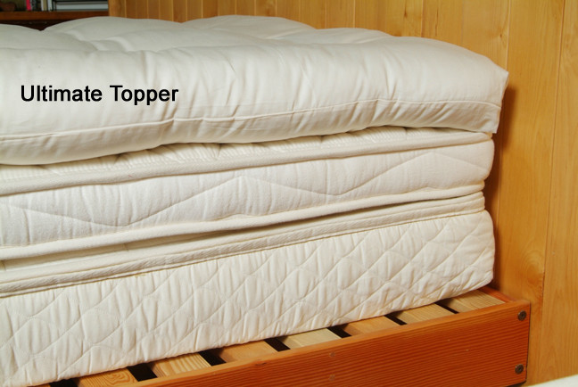 wool mattress topper photo