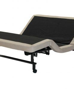 essential adjustable bed base by sleeping organic