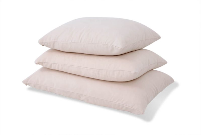 king size, queen size, and standard pillow dimensions