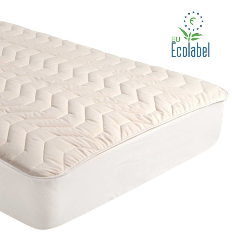 All Natural Cotton Mattress Pad - Sleeping Organic